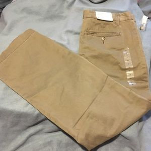 NWT Gap Olive Green Straight Fit Chino Pants
